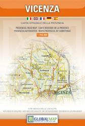 Veneto: Vicenza  1:150.000 (Global Map)