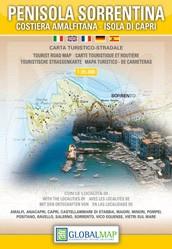 Toeristenkaart Penisola Sorrentina 1:35.000