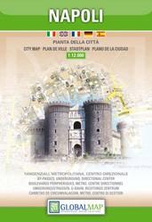 Stadsplattegrond Napoli 1:12.000