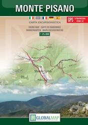 Wandelkaart Monte Pisano (Toscana) 1:25 000 (Global Map)