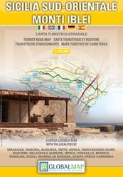 Toeristenkaart Sicilia Sud-Orientale / Monti Iblei 1:120.000 (2011)
