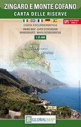 Wandelkaart Zingaro E Monte Cofano   1:25.000