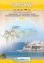 Toeristenkaart Gargano 1:80 000 (Global Map)