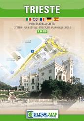 Stadsplattegrond Trieste 1:10.000