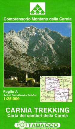 Set Carnia Trekking (2 bladen) 1:25.000