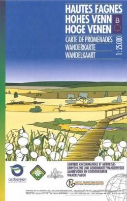 Wandelkaart Hoge Venen | Hohes Venn | Hautes Fagnes 1:25.000 (2018)
