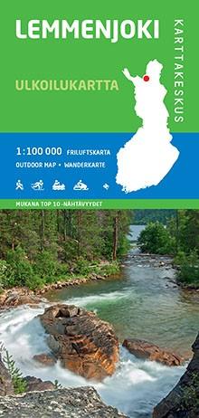 Outdoor Map Lemmenjoki 1:100.000 (2015)