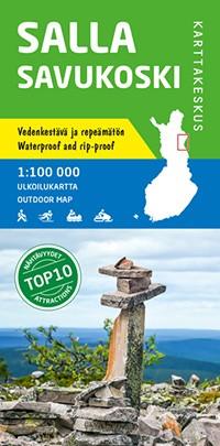 Outdoor Map Salla Savukoski 1:100.000 (2016)