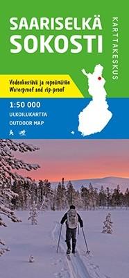 Outdoor Map Saarisselkä Sokosti  1:50.000 (2019)