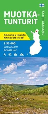 Outdoor Map Muotka Tunturit 1:50.000 (2019)