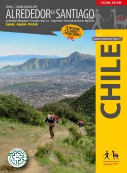 Trekking kaart Alrededor de Santiago 1:50.000/1:25.000