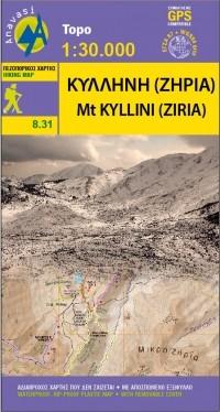 Topo 25 Mt. Ziria-Peloponnese (8.31)
