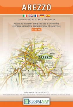 Toscana: Arezzo 1:150.000 (Global Map)