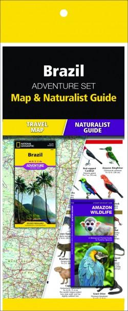 Brazil Adventure Set (Map & Naturalist Guide)