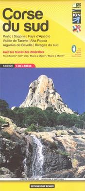 Wandelkaart Carte 09 Corse du Sud 1:60.000