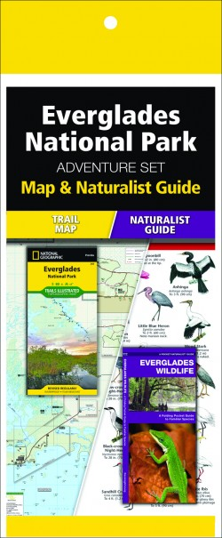 Everglades National Park Adventure Set (Map & Naturalist Guide)