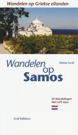 Wandelen op Samos (25 wandelingen met GPS data) 2012