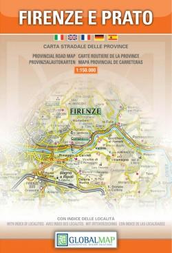 Toscana: Firenze e Prato 1:150.000 (Global Map)