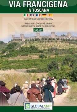 Wandelkaart Via Francigena in Toscana 1:50.000 (Global Map)