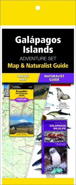 Galápagos Islands Adventure Set (Map & Naturalist Guide)