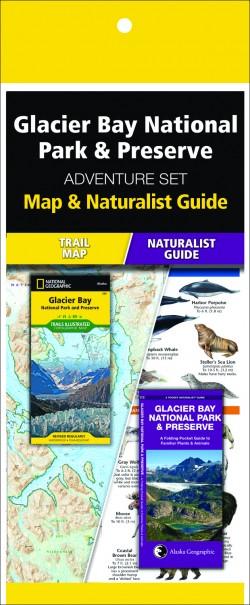 Glacier Bay National Park & Preserve Adventure Set (Map & Naturalist Guide)