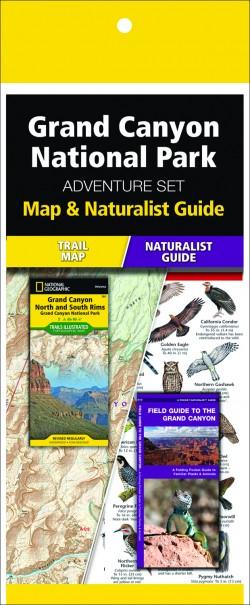 Grand Canyon National Park Adventure Set (Map & Naturalist Guide)