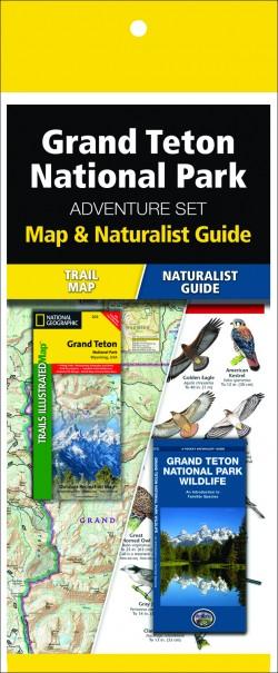 Grand Teton National Park Adventure Set (Map & Naturalist Guide)