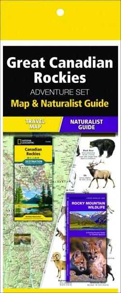 Great Canadian Rockies Adventure Set (Map & Naturalist Guide)