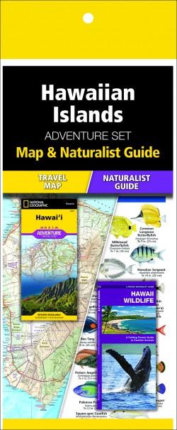 Hawaiian Islands Adventure Set (Map & Naturalist Guide)