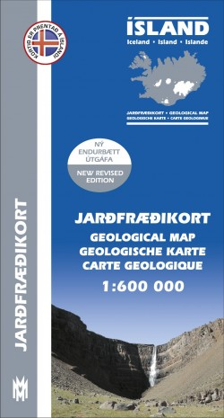 Geological Map Iceland 1:600 000 (2014)