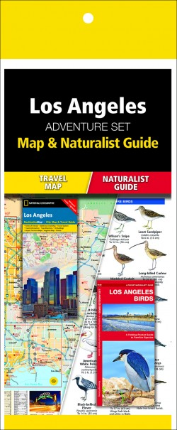 Los Angeles Adventure Set (Map & Naturalist Guide)
