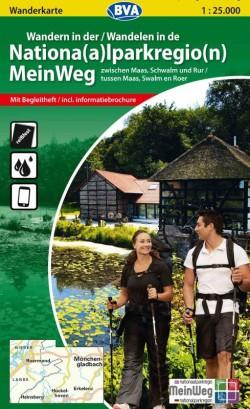 BVA Wandelen in de Nationaal Parkregio Meinweg (Maas, Swalm, Roer) 1:25 000