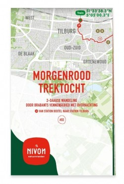 Wandelkaart Morgenrood Trektocht 03