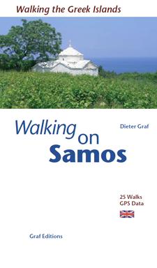 Walking on Samos (21 walks with GPS data) 2012