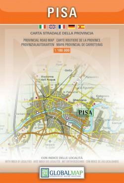 Toscana: Pisa 1:150.000 (Global Map)