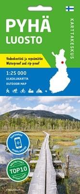Oudoor Map Pyhä-Luosto ulkoilukartta, 1:50.000 (2020)