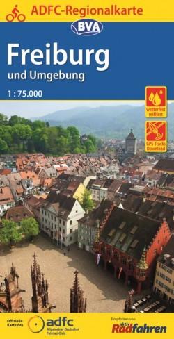 BVA-ADFC Regionalkarte Freiburg und Umgebung 1:75.000