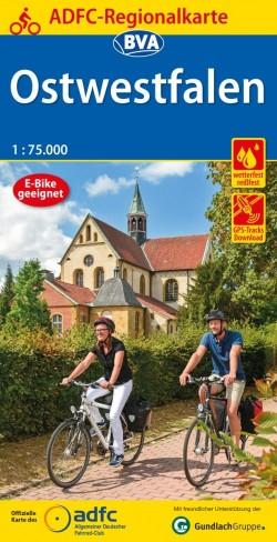 BVA-ADFC Regionalkarte Ostwestfalen 1:75.000