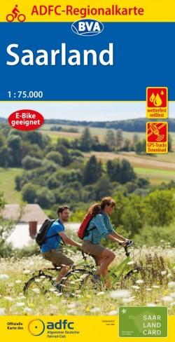 BVA Regionalkarte Saarland 1:75.000
