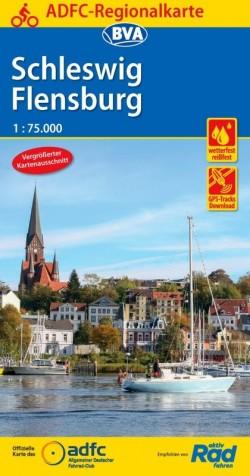 ADFC Regionalkarte Schleswig Flensburg 1:75.000 (2018)