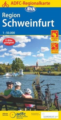 BVA-ADFC Regionalkarte Schweinfurt 1:50.000 (1.A 2020)