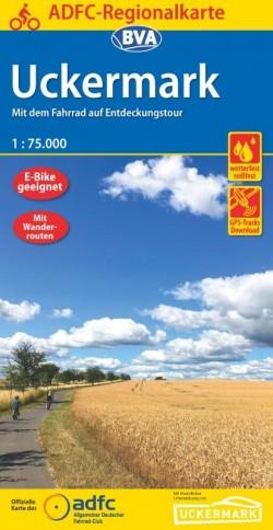 Fietskaart BVA-ADFC Regionalkarte Uckermark 1:75.000 (3.A 2020)