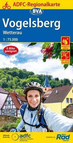 BVA-ADFC Regionalkarte Vogelsberg/Wetterau 1:75.000 (2021 4.A)