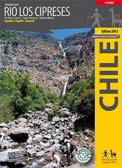 Trekking Map Rio Los Cipreses 1:100 000/1:25 000 (2014)