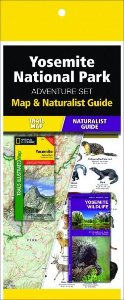 Yosemite National Park Adventure Set (Map & Naturalist Guide)