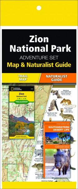 Zion National Park Adventure Set (Map & Naturalist Guide)