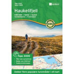 Wandelkaart Topo 3000 Haukelifjell 1:50.000 (2017)
