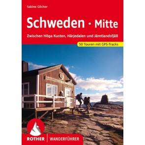 Wandelgids Rother Wanderführer Schweden Mitte - 50 Touren