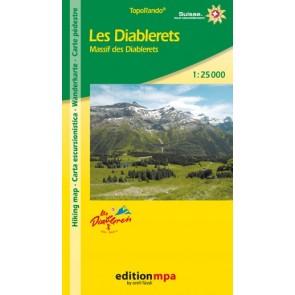 TopoRando Les Diablerets 1:25.000