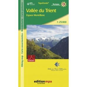 TopoRando Vallée du Trient 1:25.000
